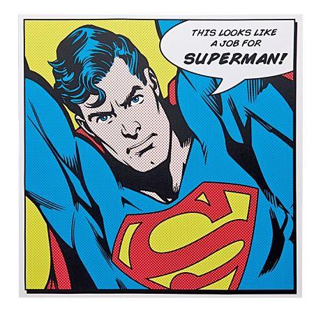 Superman Sayings Canvas Art 40cm x 40cm