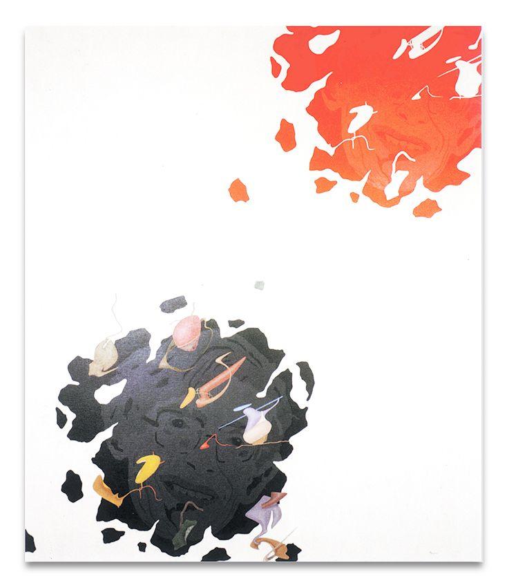 Ritratto di Stephen Hawking, acrilici su tela, cm 120x100, 1989