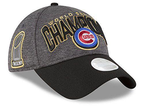 bd7b191a8f1 OuterStuff Chicago Cubs New Era 2016 World Series Champions Women s Locker  Room Hat