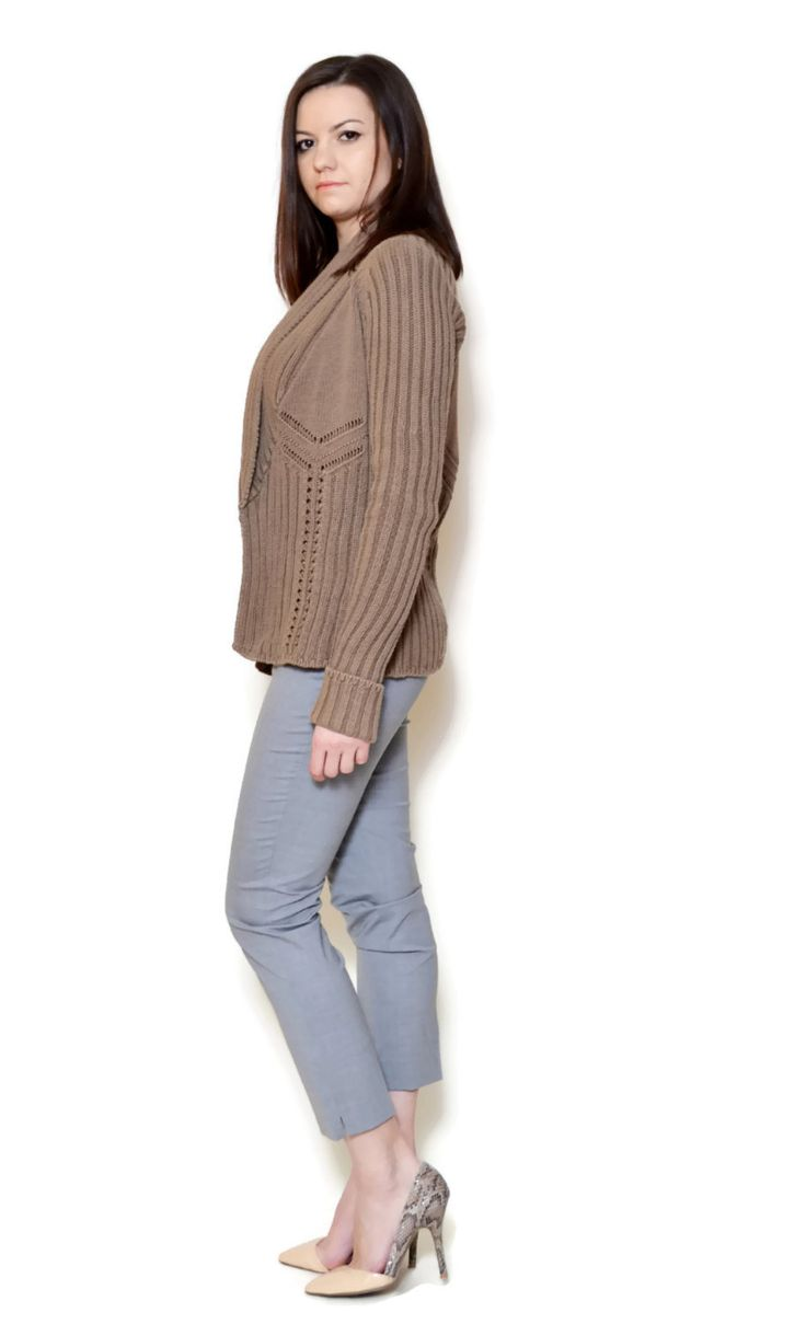 loose sweater outfit casual  US$29.95