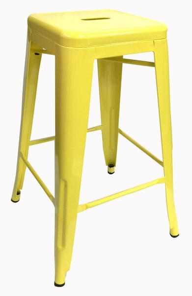 Buy Replica Tolix Stool 66cm Yellow Online at Factory Direct Prices w/FAST, Insured, Australia-Wide Shipping. Visit our Website or Phone 08-9477-3441