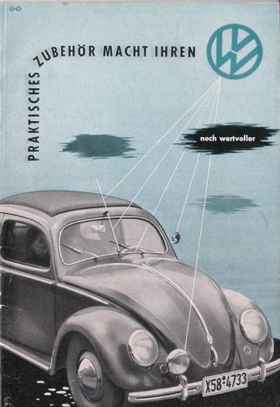 Accesorios VW para Typ 11. 1952