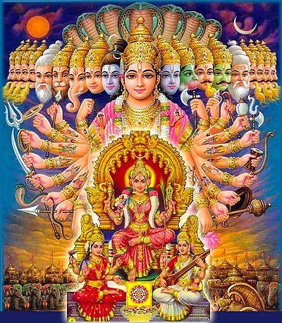 Hindu Goddess Sakthi