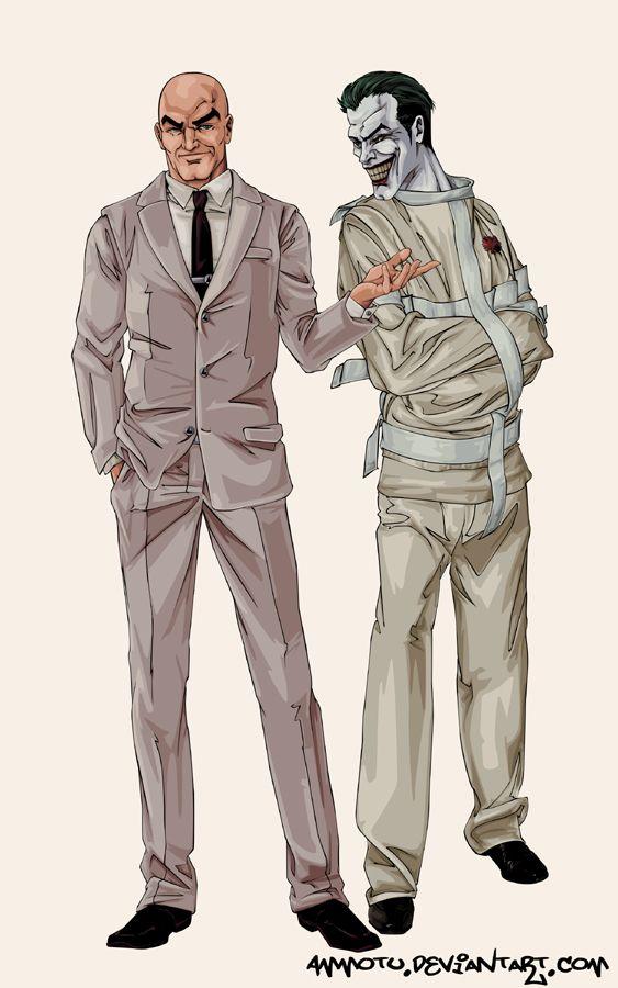 Lex Luthor & The Joker by Ammotu.deviantart.com