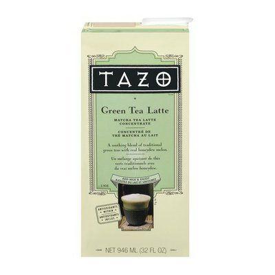 Tazo Green Tea Latte Matcha Tea Latte Concentrate @catforsley