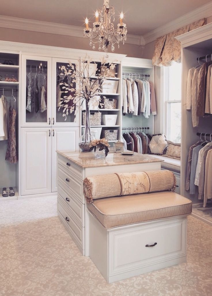 Design Bedroom Closet Adorable 1078 Best Walk In Closets Images On Pinterest  Walk In Wardrobe Design Decoration