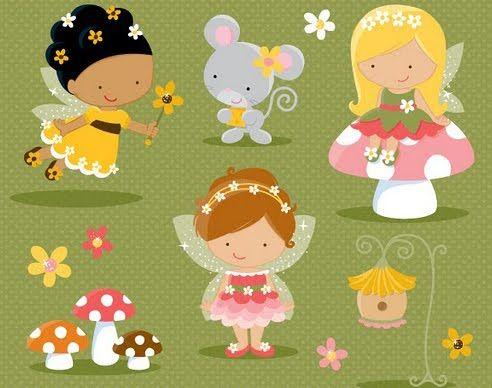 Dibujos de hadas infantiles - Imagui