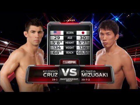 Fight Night Boston Free Fight: Dominick Cruz vs Takeya  Mizugaki