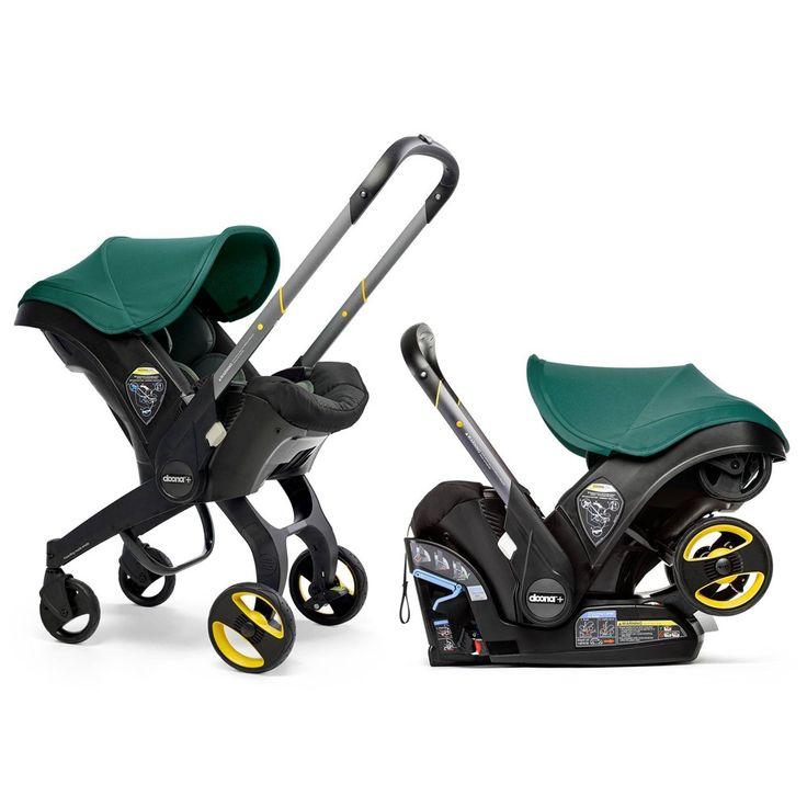 Doona car seat stroller racing green doona car seat