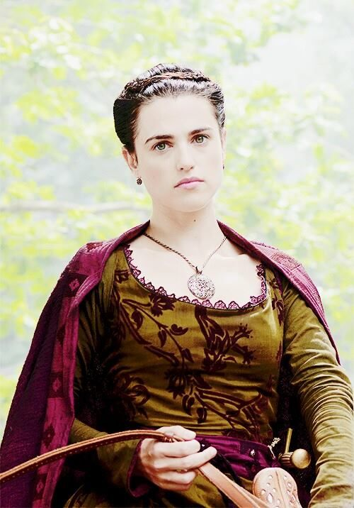 The gorgeous Katie McGrath from Labyrinth.