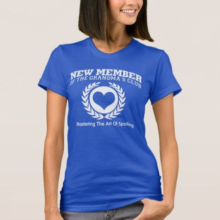 New Member of the GRANDMA'S CLUB T-Shirt - tap to personalize and get yours