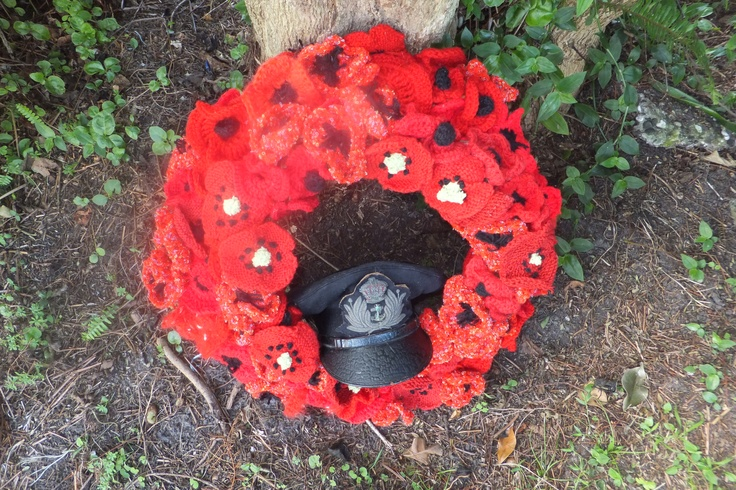 ANZAC, love the poppies