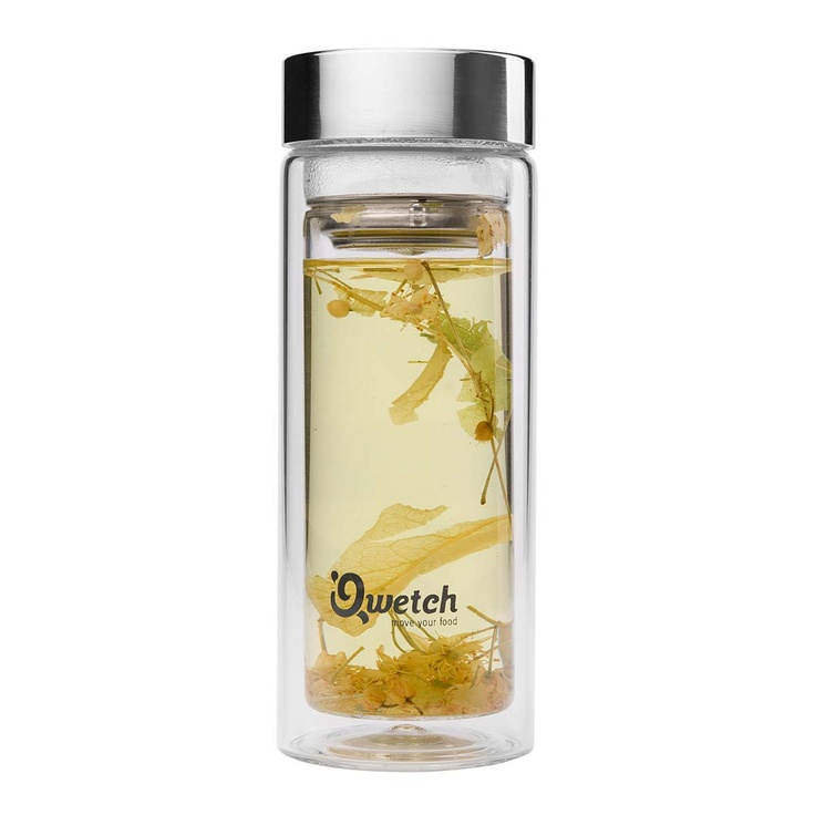 Qwetch's insulated tea tumbler