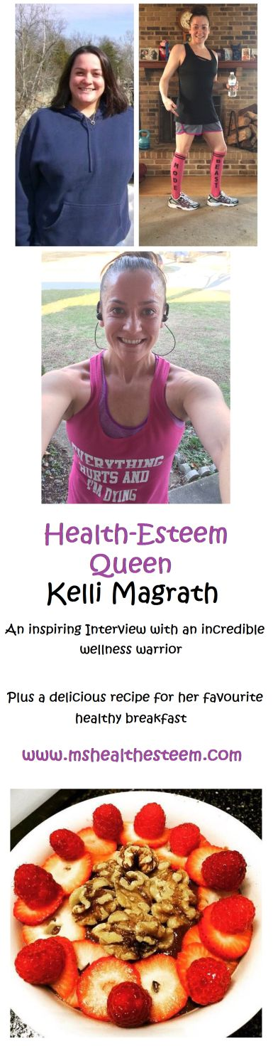 Meet the incredibly inspiring Kelli! Her health journey will leave you feeling totally motivated. She traded junk food, alchohol and cigarettes for a healthy foodie, self-loving, nutritious lifestyle. Read about her journey and get the recipe to her favourite, delicious slow cooker overnight oats at mshealthesteem.com