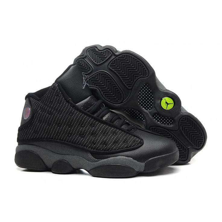 Sale Cheap Air Jordan 13 Retro All Black Online, Price: $68.00 - New Air Jordan Shoes 2016 - Jordan2U.com
