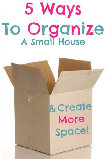 Great organizing tips from the mom of a family of 4 living in a TINY 3rd story apartment! I loved #4 I need to start doing that!!!