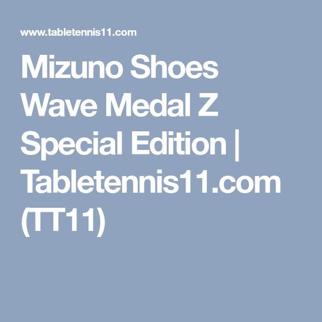 Mizuno Shoes Wave Medal Z Special Edition | Tabletennis11.com (TT11)