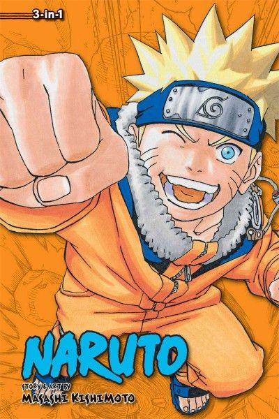 Naruto 6: 3-in-1 Edition (Naruto)