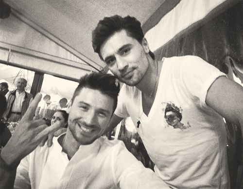 Dima and Sergey