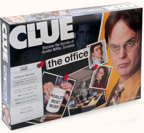 The Office version of CLUE. $25  Dwight did it.