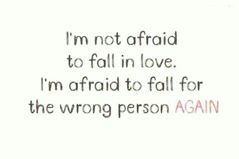 I'm not afraid!