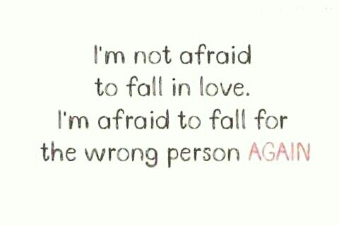 I'm not afraid!