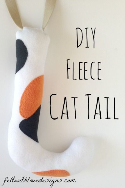 DIY Belt Loop Cat Tail Tutorial - Sheriff Callie Costume {Felt With Love Designs}