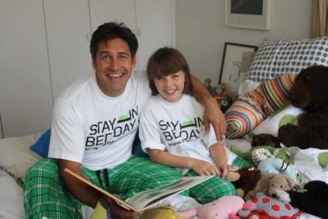Stay in bed on Sunday June 29th and help raise funds for a disease that has few effective treatments & no cure.