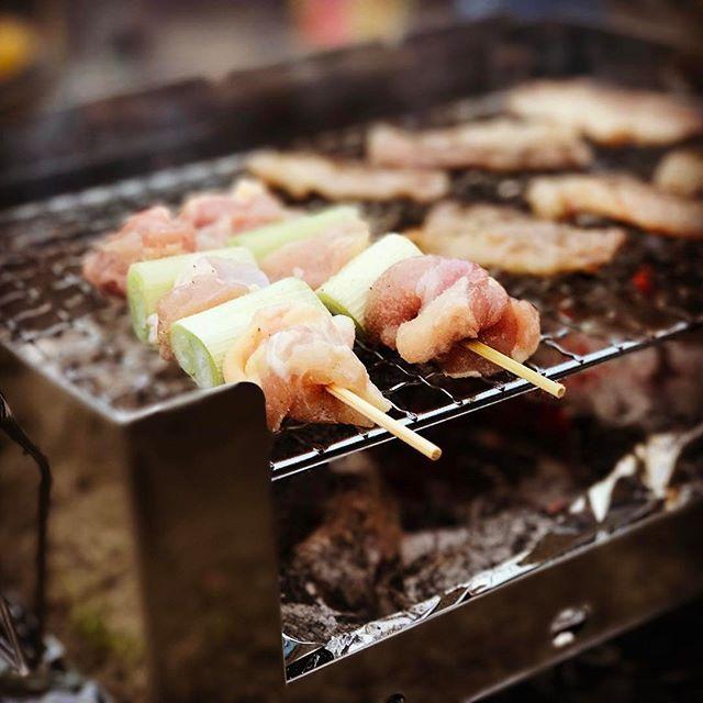 今季初キャンプ! #千葉 #キャンプ #キャンプ飯 #肉、肉、ハマグリ #ウルトラコンパクトグリル #星空綺麗