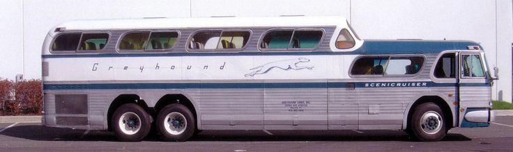 1954 Greyhound Scenicruiser coach - build number 083 of 1001