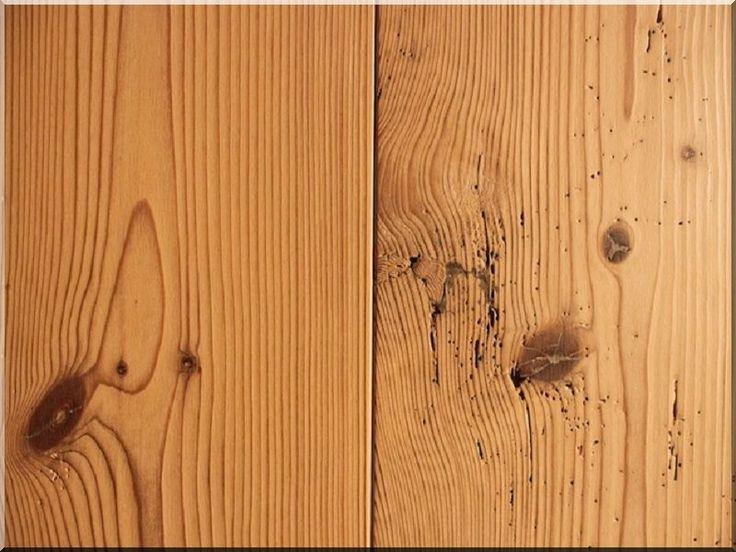 Fenyő deszka falburkolat antik faanyagból