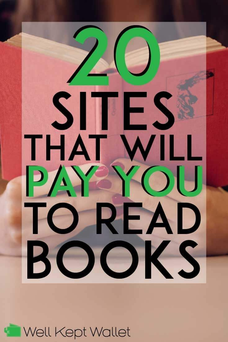 13 Legit Sites That Will Pay You To Read Books Books To Read Earn Money From Home Extra Money