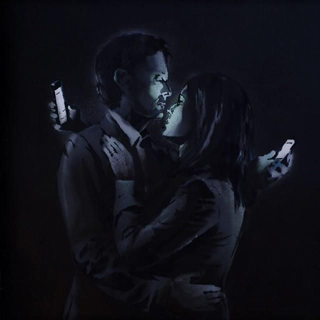 New piece from Banksy   | Art People Gallery