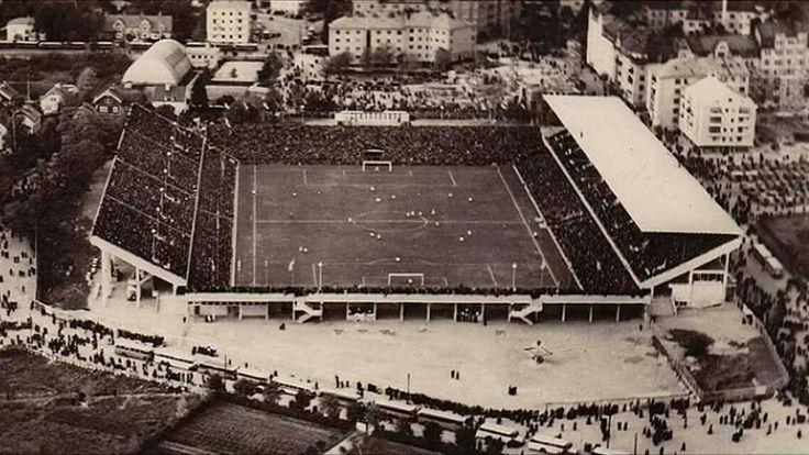 Råsunda Stadium, Solna - Sweden, 1937