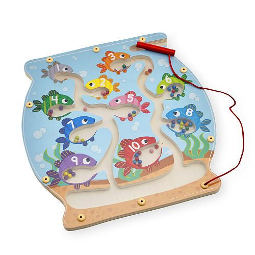"""Imaginarium Learning Magnetic Fish Bowl Maze - Toys R Us - Toys """"R"""" Us aprox 12""""x12"""" $12.99"""