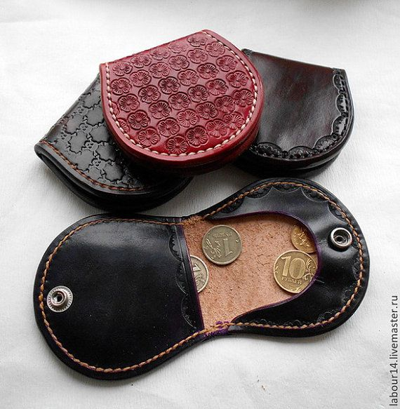 Pattern template Leather Coin Wallet by LeatherPatternCraft