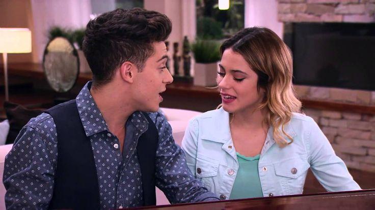 """Vilu y Federico cantan """"En mi mundo"""" en Italiano Violetta 3"""