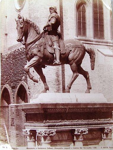 Monument to Bartolomeo Colleoni, Venice by Carlo Naya