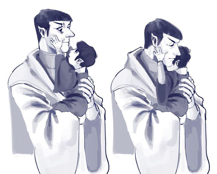 Sarek, Spock    Star Trek AOS, TOS