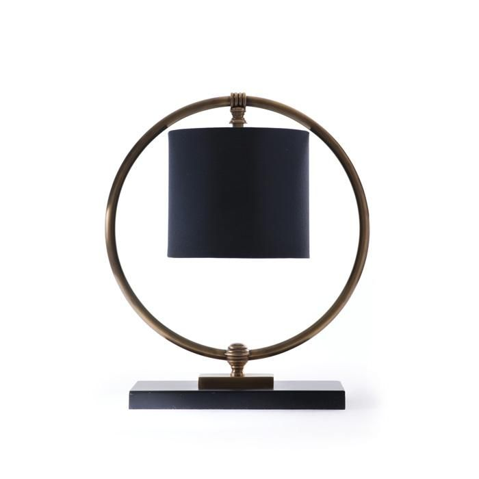 Brushed Brass Classic Desk or Table Lamp
