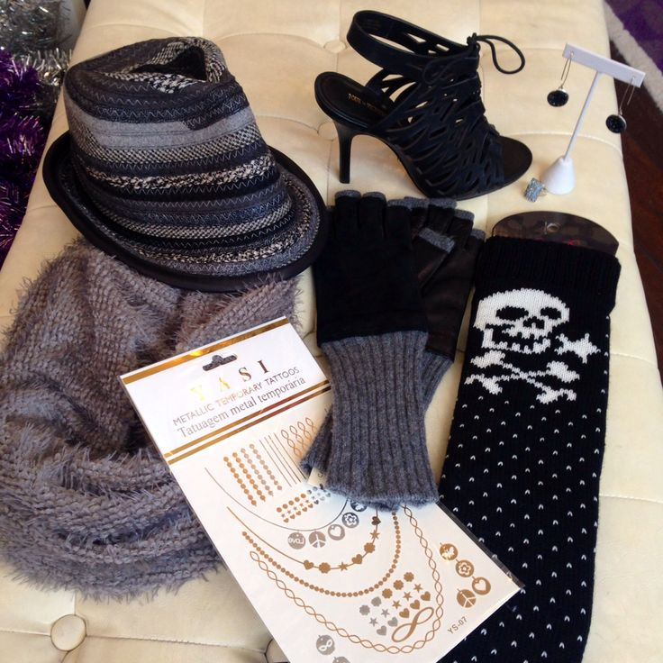 Everything you need to be #fabulous and #warm on this #cold #newyearseve #infinityscarf #scarves #legwarmers #gloves #hats #tattoo #jewelry #stilettos #shoes #heels #sexy #sexyshoes #earrings #rings #necklaces #swarovski @pourlavictoire @carlos_shoes @francosarto #shoplocal #shopsmall #EverythingButTheClothes