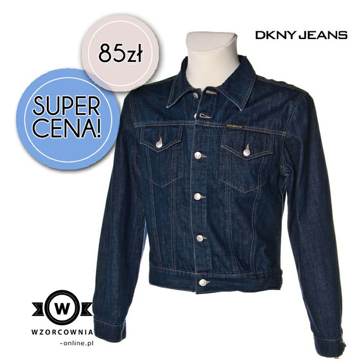CENA DNIA: Oryginalna jeansowa kurtka DKNY, 85,00 PLN  TUTAJ --> http://bit.ly/P1w4Tb