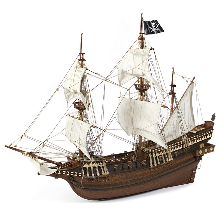 Galeone BUCCANEER. Il modello Buccaneer potrebbe essere stato uno di quei vascelli utilizzati per realizzare le loro imprese criminali.