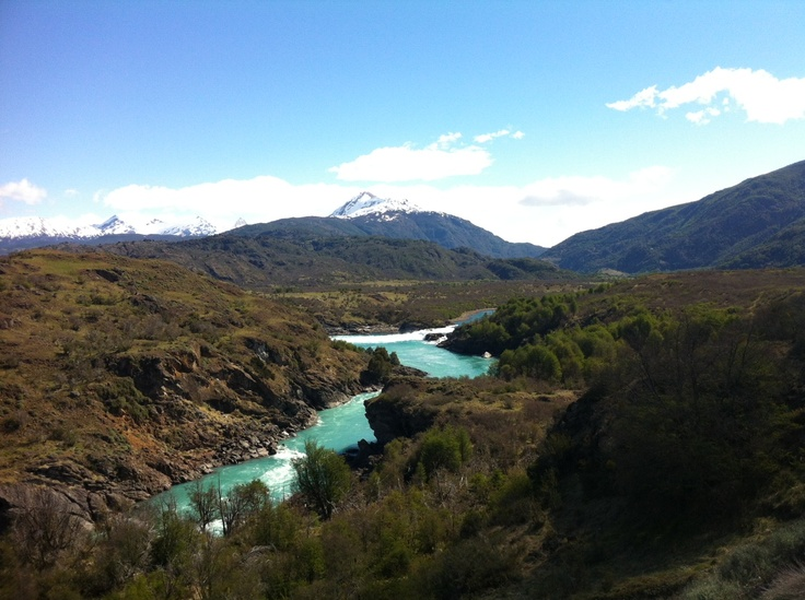 Río Baker. Foto de Felipe Urrutia Rivas.