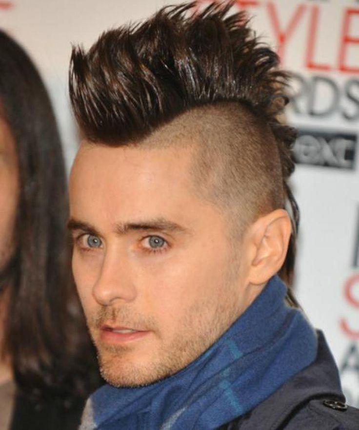 mejores 7 imágenes de peinados con cresta en pinterest | peinados
