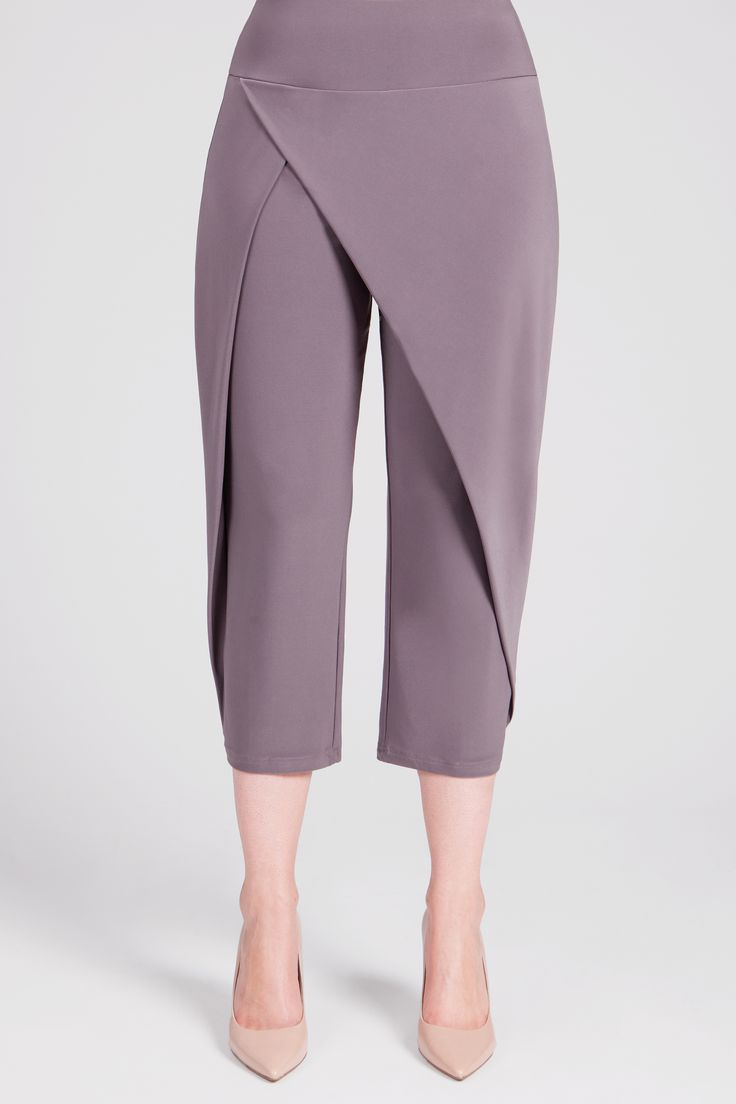 Sympli In-Stock Spring 2018 27144 Double Over Pant