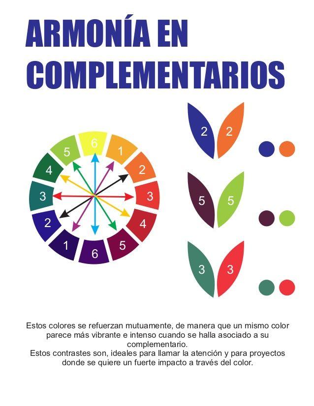 Armonia De Colores 1 Circulo Cromatico De Colores Armonia De Colores Colores Calidos Y Frios