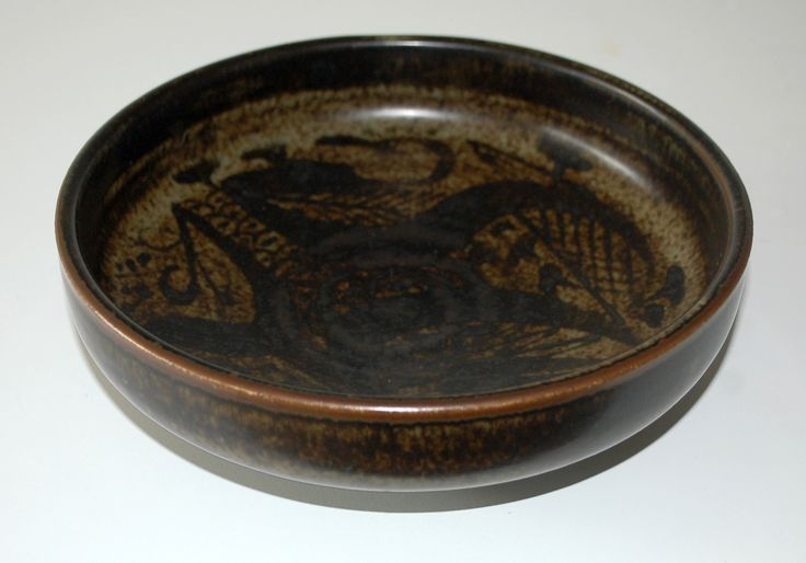 Nils Thorsson, bowl in stoneware., one of.