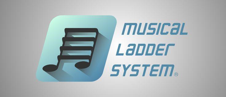Musical Ladder System Logo on YourLogoDude.com