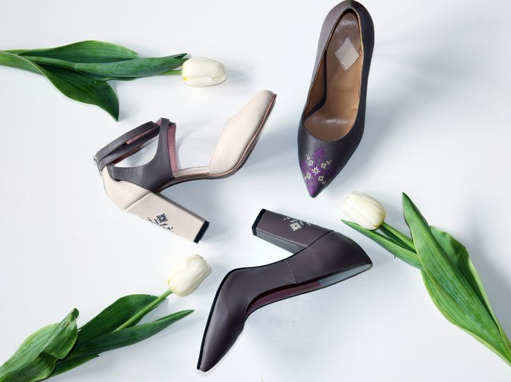 Sneak peek of a new shoes line, just in time for spring.